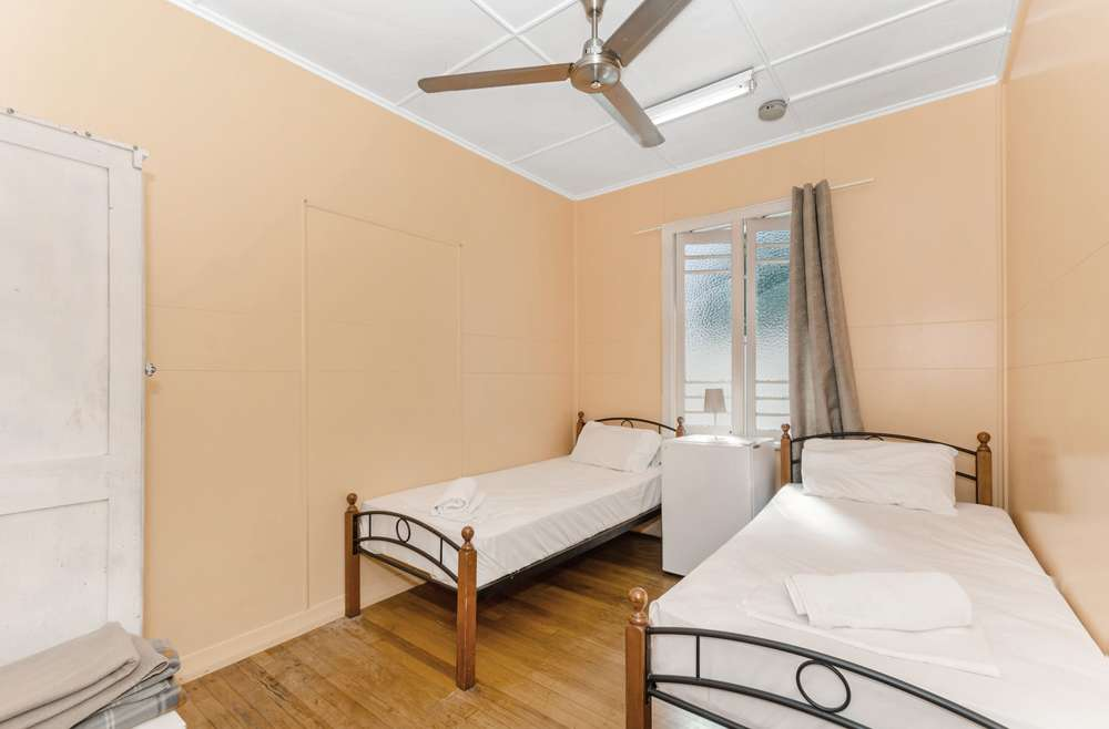 Private Budget Room, Twin beds & fan
