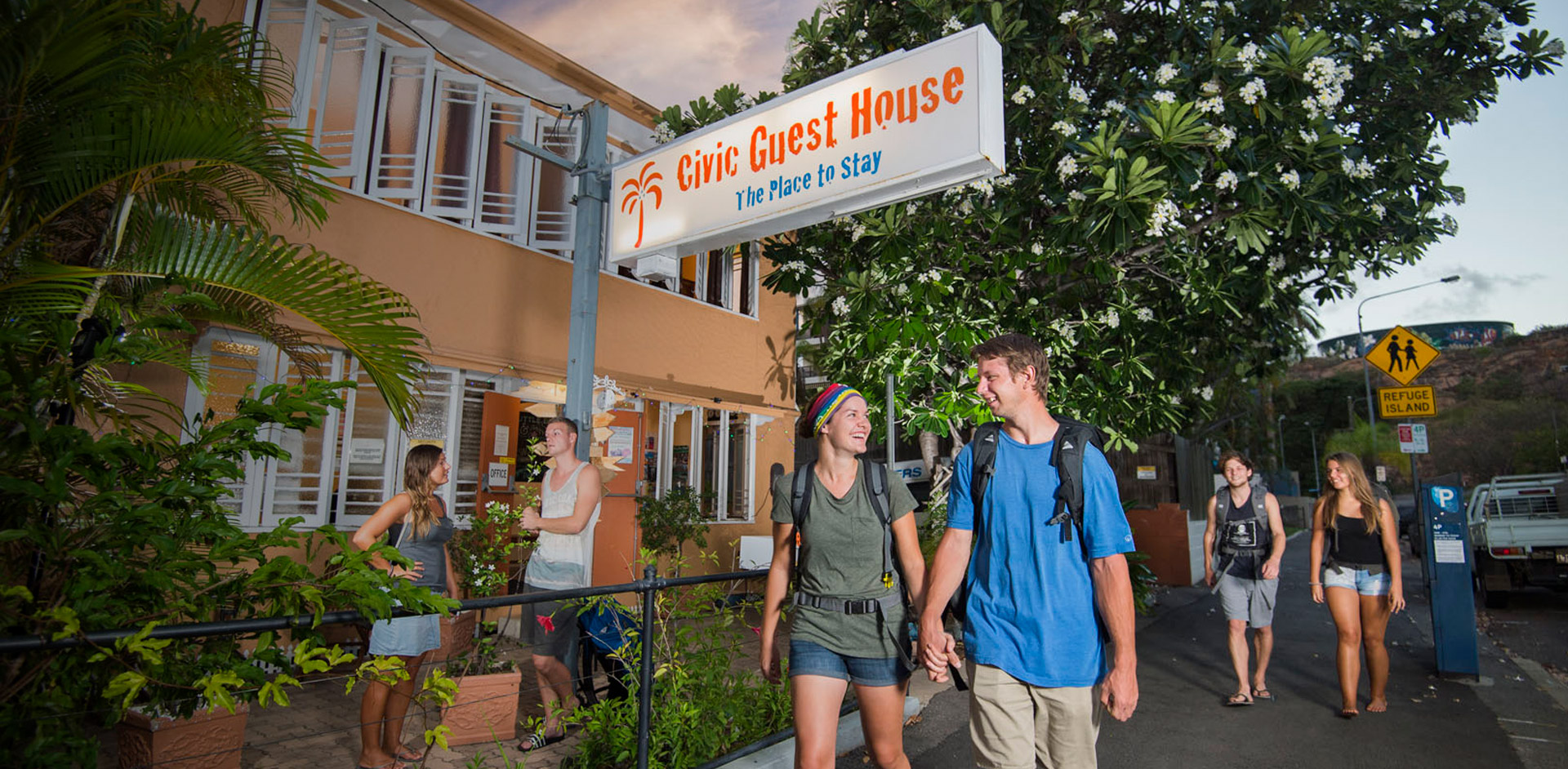 Guest at Civic Guest House Townsville Backpackers Hostel